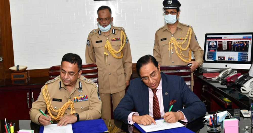 Dr. Benazir Ahmed, BPM (Bar) Sir took charge as Hon'ble IGP